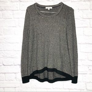 Madewell long sleeve knit top